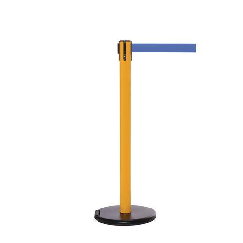 Rollersafety 250 Yellow Post 3.4M Blue Belt