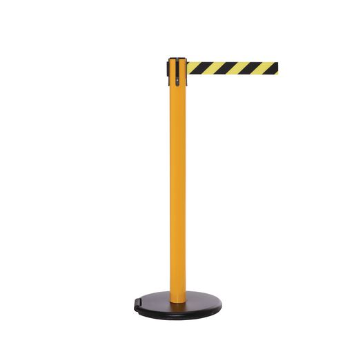Rollersafety 250 Yellow Post 3.4M Yell/Black Diagonal Belt