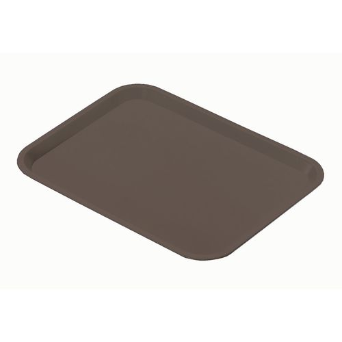 Plastic Catering Trays Grey Pack of 12