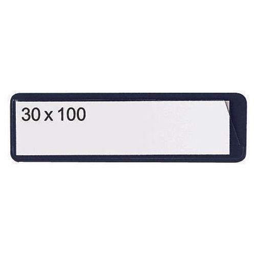 Self-Adhesive Ticket Pouch 30X100 Pk 100  Black