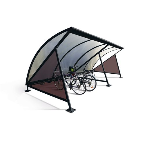 Moonshape Cycle Shelter Jet Black Ral9005