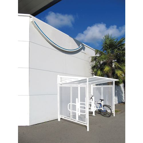 Convivale Cycle Shelter Pure White Ral9010