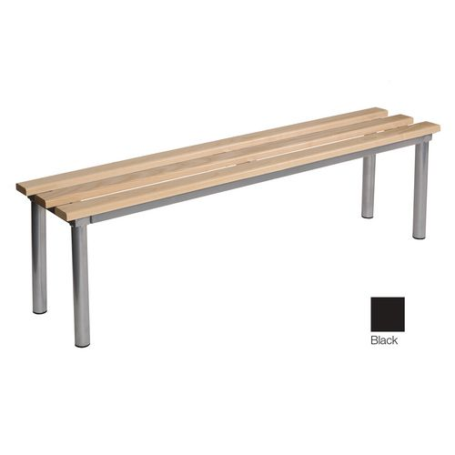 Club Mezzo Freestanding Bench Black 1500 Widex325mm Deep