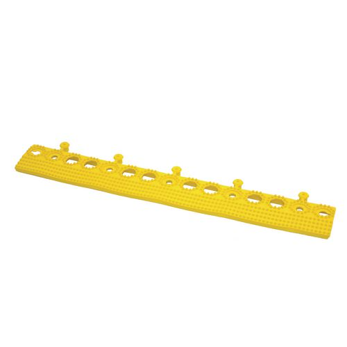 Plastex Lok Male Edge Yellow 500mm
