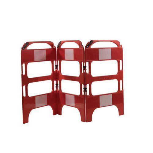 3 Gate Workgate Red Manhole Barrier Sets