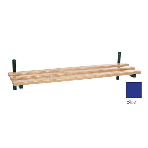 Evolve Wood Shelf 2370mm Blue