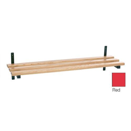Evolve Wood Shelf 1900mm Red