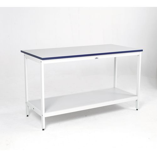 Contract Mailroom Bench 1200mm Long With Shelf
