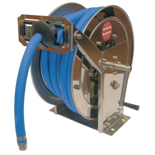 Manual Rewind Stainless Steel Hose Reel 40mx12.5mm