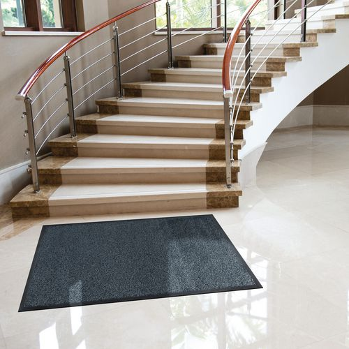 Washable Entrance Mat 115x175Cm Granite
