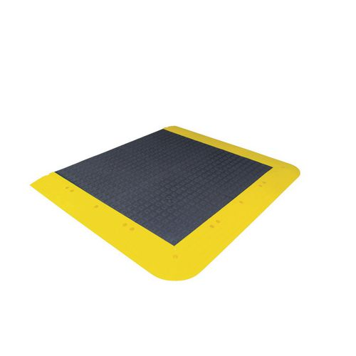 Anti-Slip Interlocking Floor Kit Anti-Fatigue Solid Deck 1220x1070mm