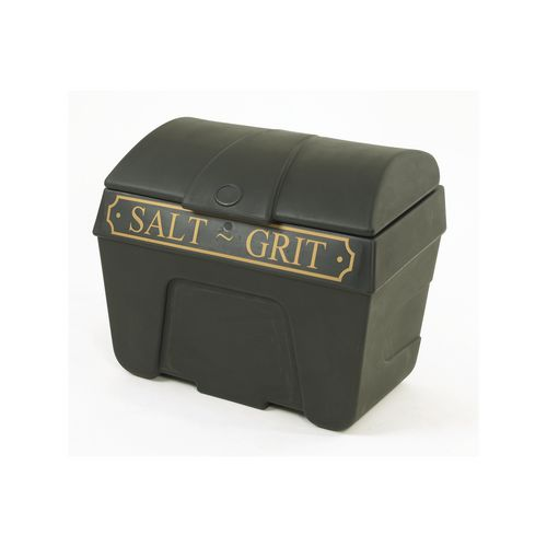 200 Litre Black Grit Bin With Hasp And Staple