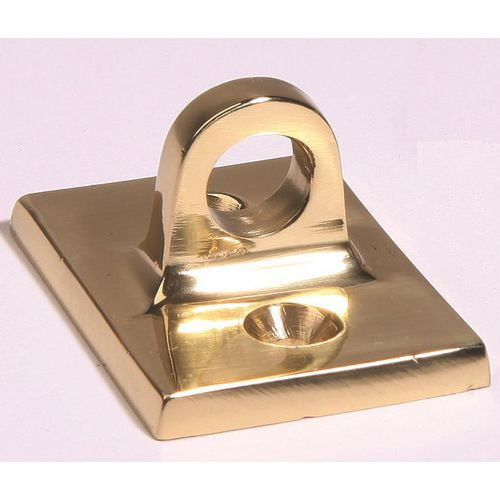 Wall Plate In Polished Brass In Small