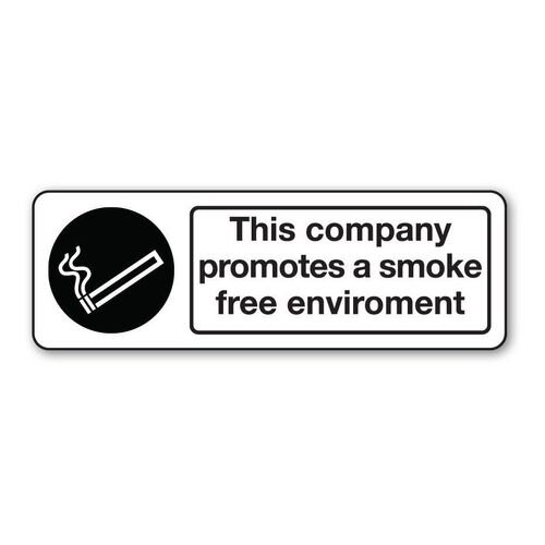 Sign This Company Promotes Self-Adhesive Vinyl 600x200
