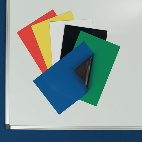Magnetic Sheets A4 Blue