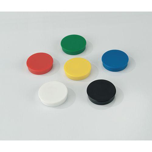 Coloured Magnets 20mm Black
