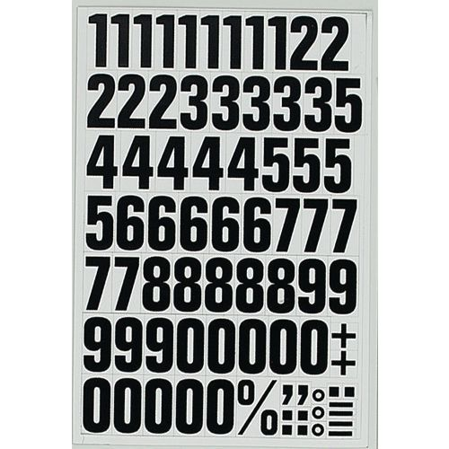 Magnetic Characters 43mm Numbers