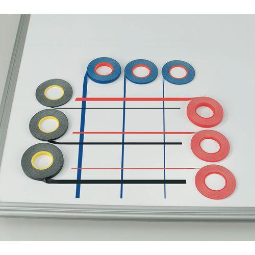 Whiteboard Gridding Tape 6mm Black