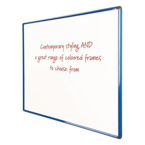 Shield Design Non-Magnetic Whiteboard 900X1200 Blue Frame