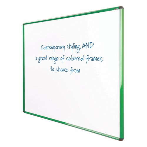 Shield Design Non-Magnetic Whiteboard 1200X1200 Green Frame