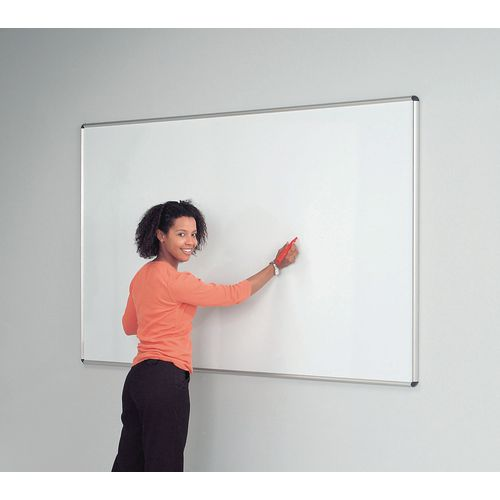 Shield Design Non-Magnetic Whiteboard 1200X1500 Aluminium Frame