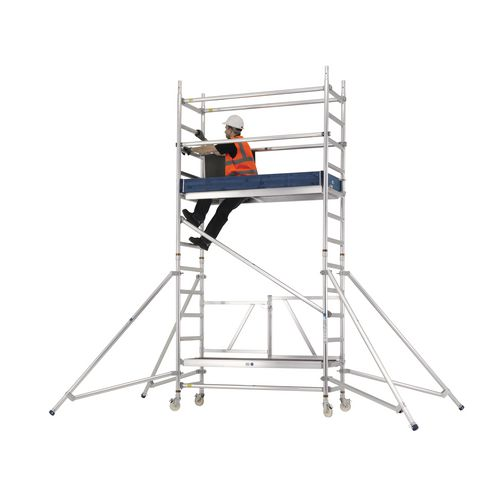 Premium Mobile Scaffold Tower 6.5M Platform Height