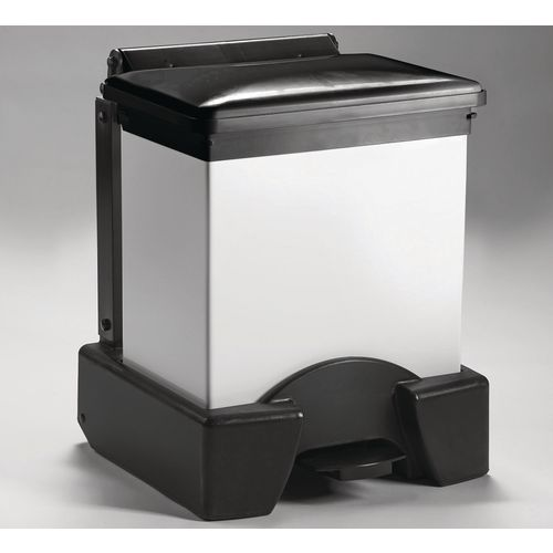 30 Litre All Plastic Removable Body Fire Retardant Sack Holder Black Lid