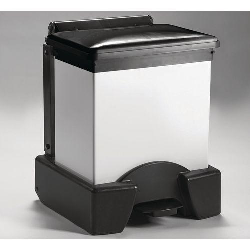 30 Litre All Plastic Removable Body Fire Retardant Sack Holder Black Lid