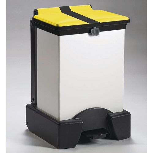 45 Litre All Plastic Removable Body Fire Retardant Sack Holder Tiger Stripe Lid