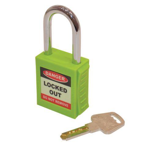 Safety Lockout Padlocks  Green (Each)