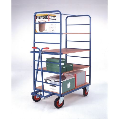 Shelf Truck 1200x800 With Rod Superstructure &Front With Drawbar