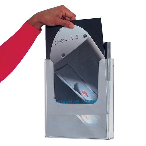 Single Pocket Literature Dispenser A4