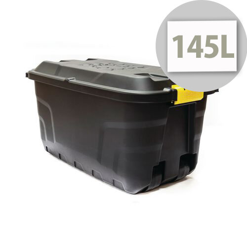 Storage Trunk On Wheels 145L - Heavy Duty Storage Containers