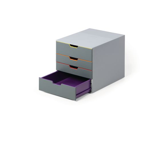 Durable Varicolor 4 Drawer Box