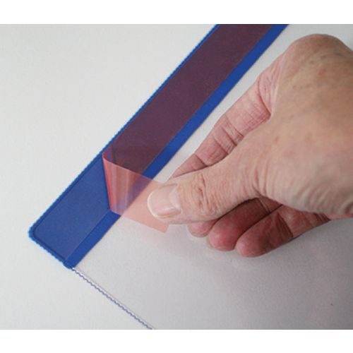 Self-Adhesive Weather Resitant Pocket A4 Horizontal Pk 10