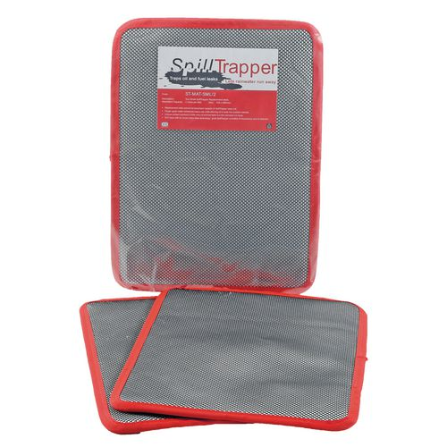 Pack Of Two Small Spilltrapper Replacement Mats