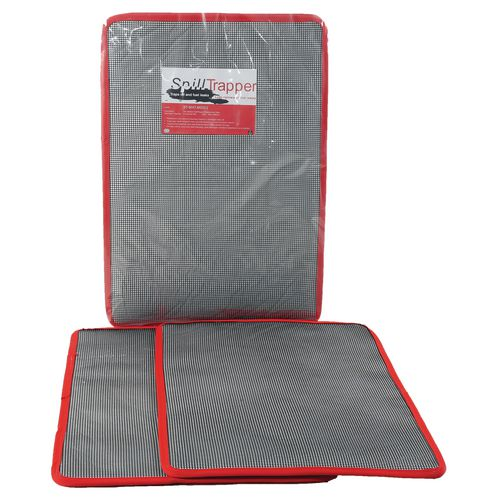 Pack Of Two Medium Spilltrapper Replacement Mats