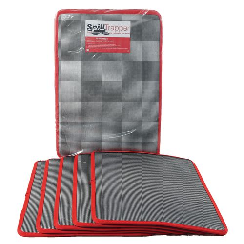 Pack Of Five Medium Spilltrapper Replacement Mats