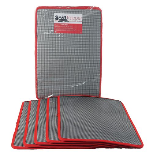 Box Of Ten Medium Spilltrapper Replacement Mats