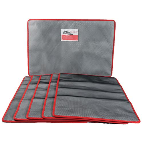 Pack Of Five Large Spilltrapper Replacement Mats