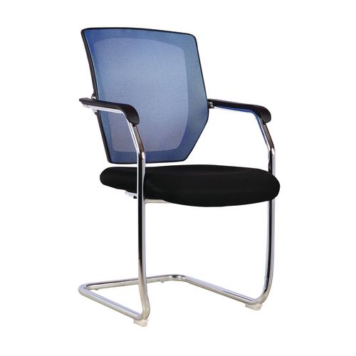 Nexus -Cantilever Chair In Blue &Black