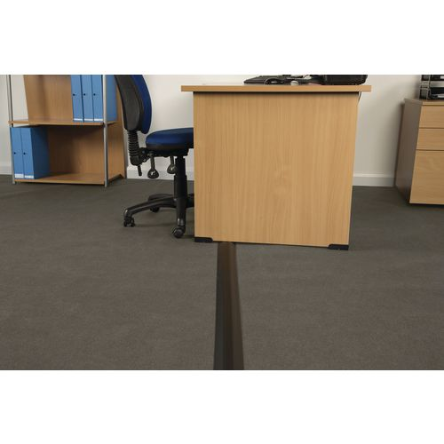 Medium Duty Linkable Floor Cable Cover Black 83mm Wide 9M Length