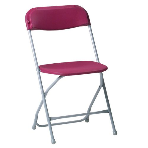 2200 Series Folding Chair Burgundy Pack of 8