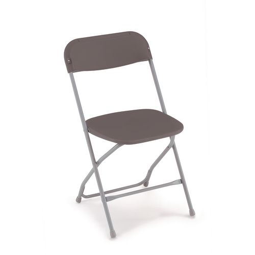 2200 Series Folding Chair Charcoal Pack of 8