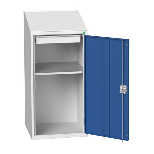 Document Station With Sloping Top 500mm Wide