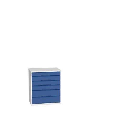 Medium Duty Drawer Cabinets 1x100mm 3x125mm And 2x175mm Drawers H x W x D mm: 900 x 800 x 550