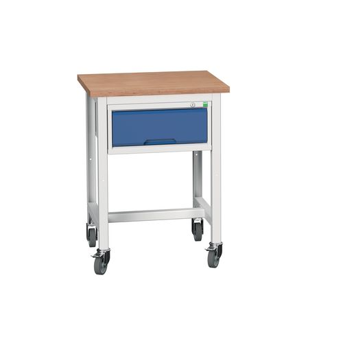 Mobile Workstand With Drawer HxWxD: 780x600x600