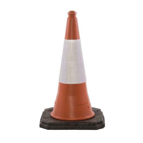 Highwayman 2 Piece Traffic Cone 500mm High Single Pallet Of 400