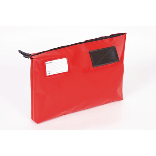 Bottom Gusset Pouch Red 470x335x75mm