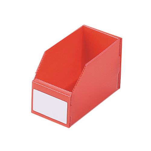 K-Bin Polyprop Pack Of 50 Hxwxl 100x150x400mm Red